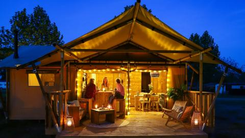 Glamping Safarilodge Deluxe